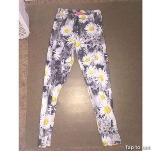 Sunflower/Cat Leggings